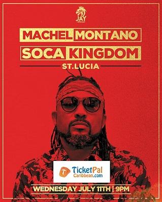 Machel Montano Soca Kingdom