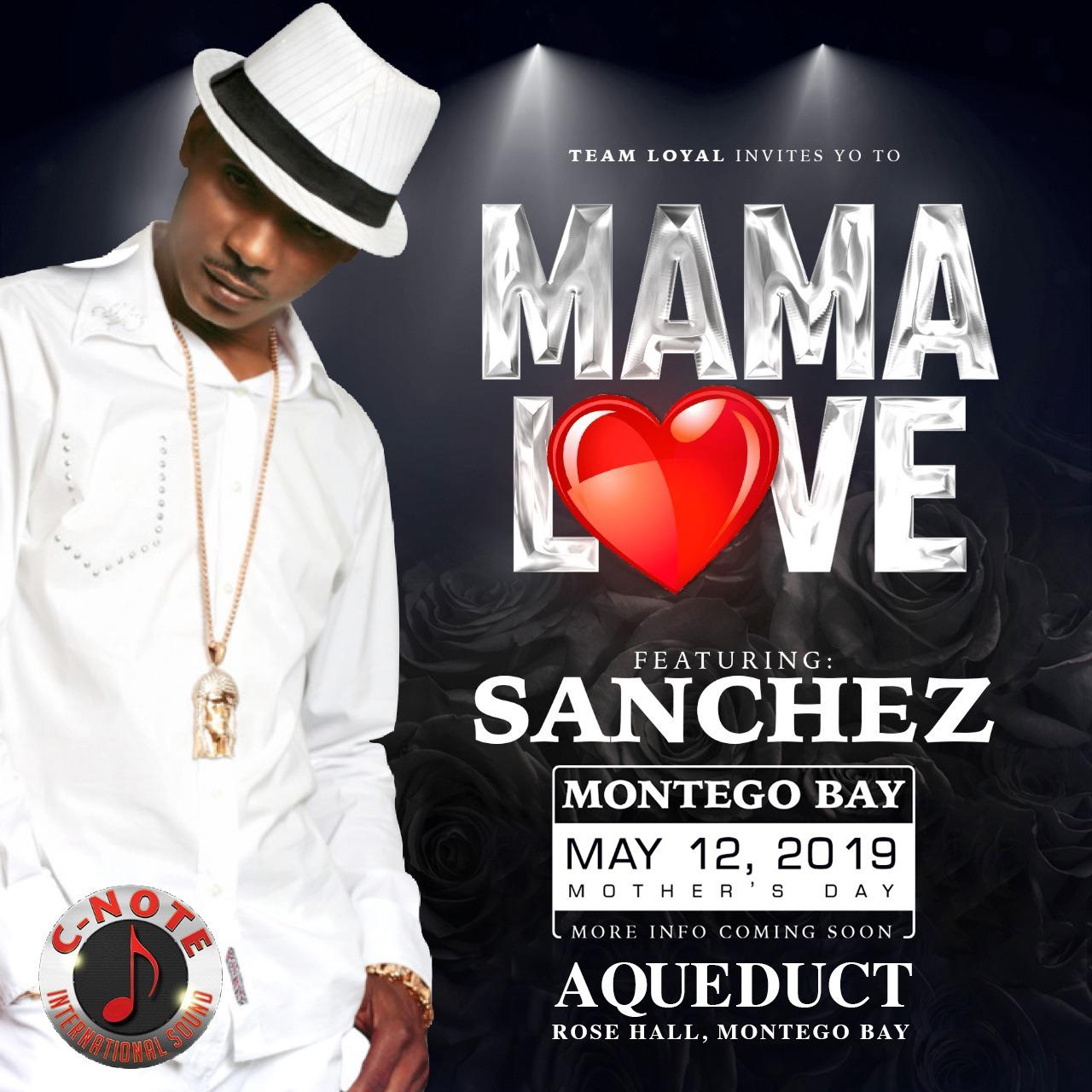 Mama love Sanchez