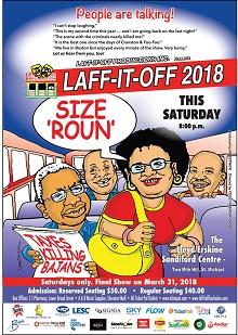 Laff it off 2018 - size Roun (Alexandra)