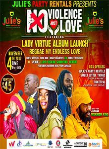 Lady Virtue's Album Launch -No Violence Just Love
