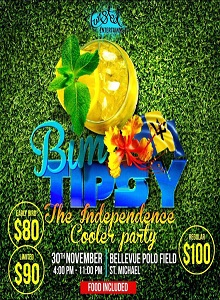 Bim Tipsy Independence The Cooler Party