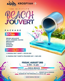 The Ultimate Beach J'ouvert