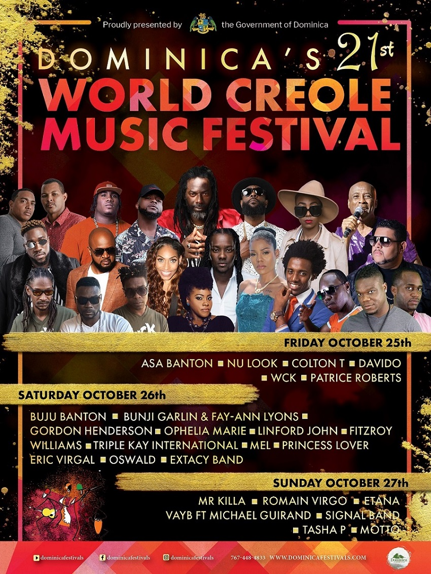 World Creole Music Festival 2019 - Night 3 - First In Line