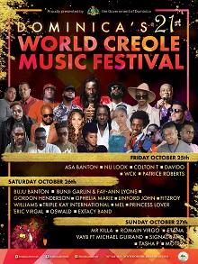 World Creole Music Festival 2019 - Night 1