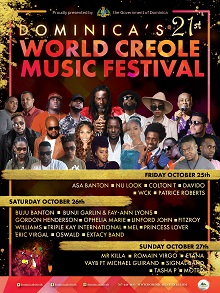 World Creole Music Festival 2019 - SEASON PASS