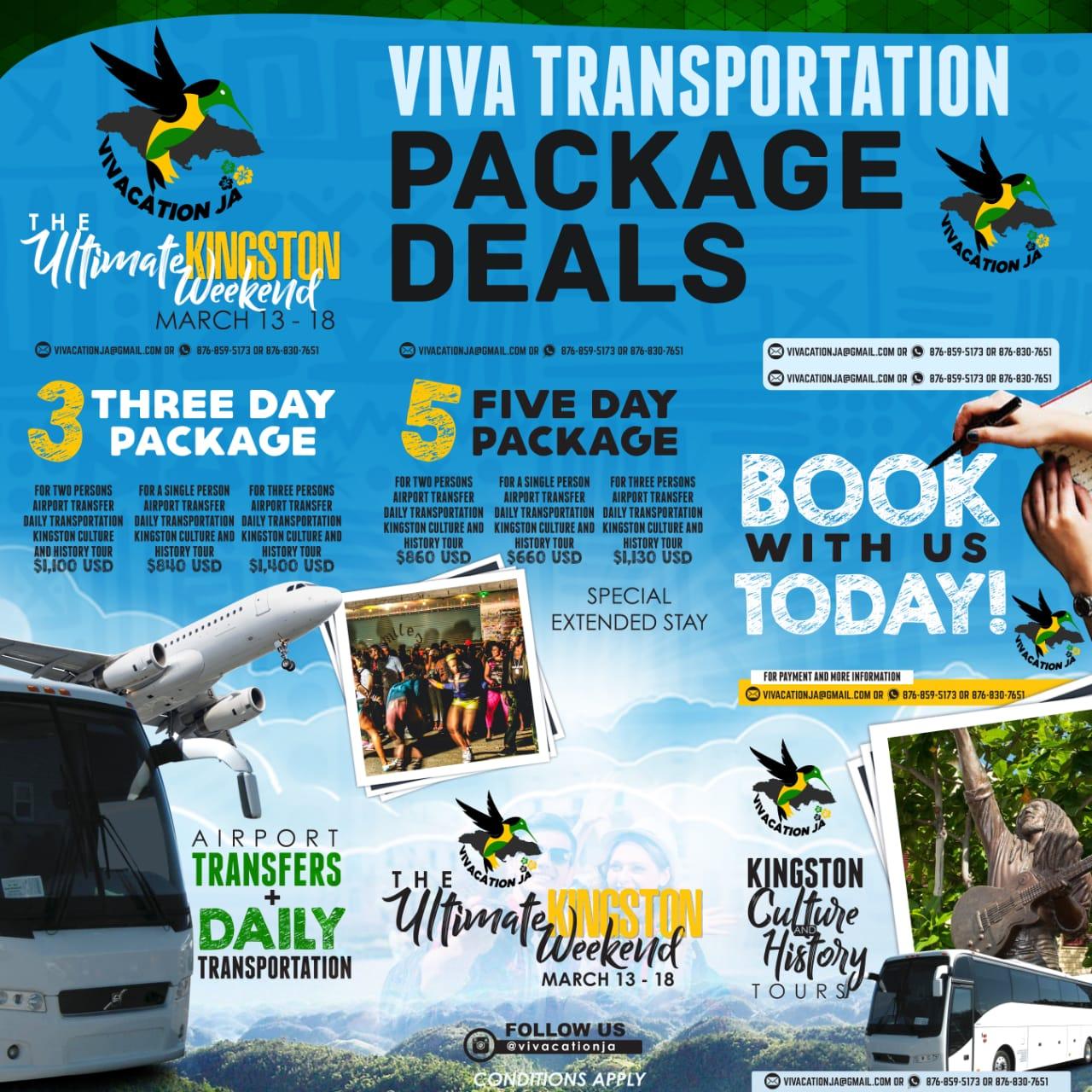 BUJU BANTON EVENTS - Local Transportation