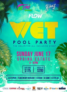 Wet Pool Party