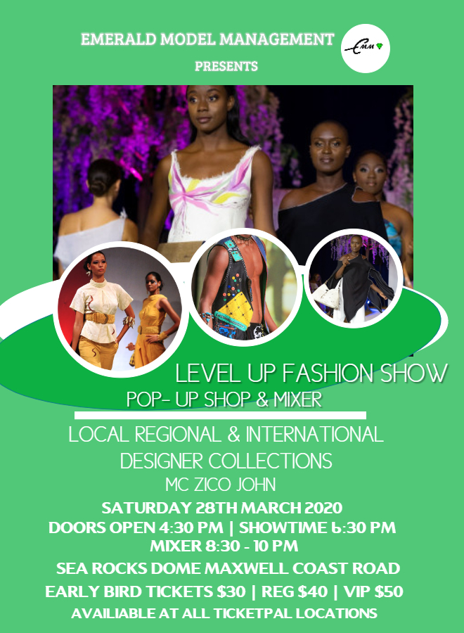Level Up Fashion Show with a Pop -up Shop & Mixer