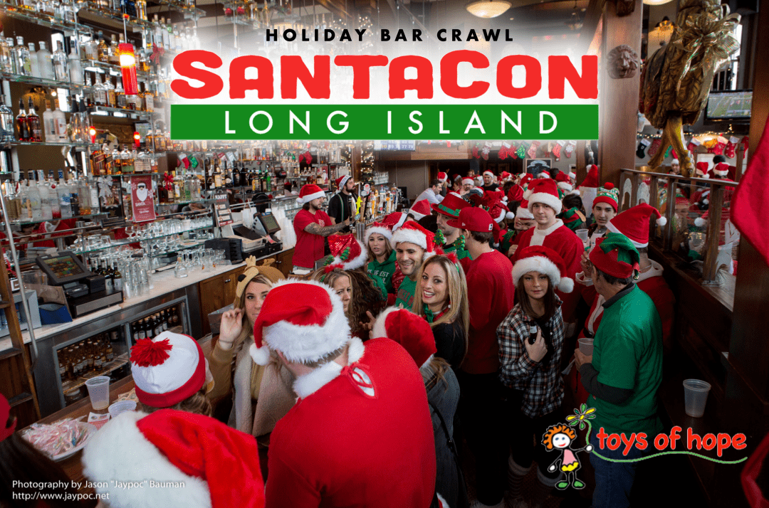 SantaCon Long Island - Farmingdale 2019