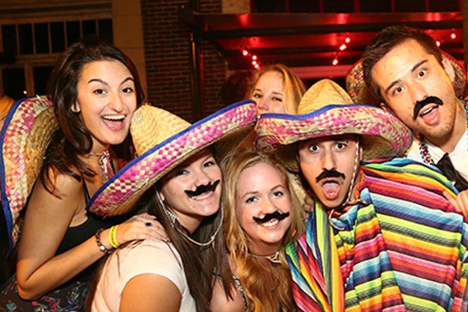 Cinco De Mayo Mustache Bar Crawl