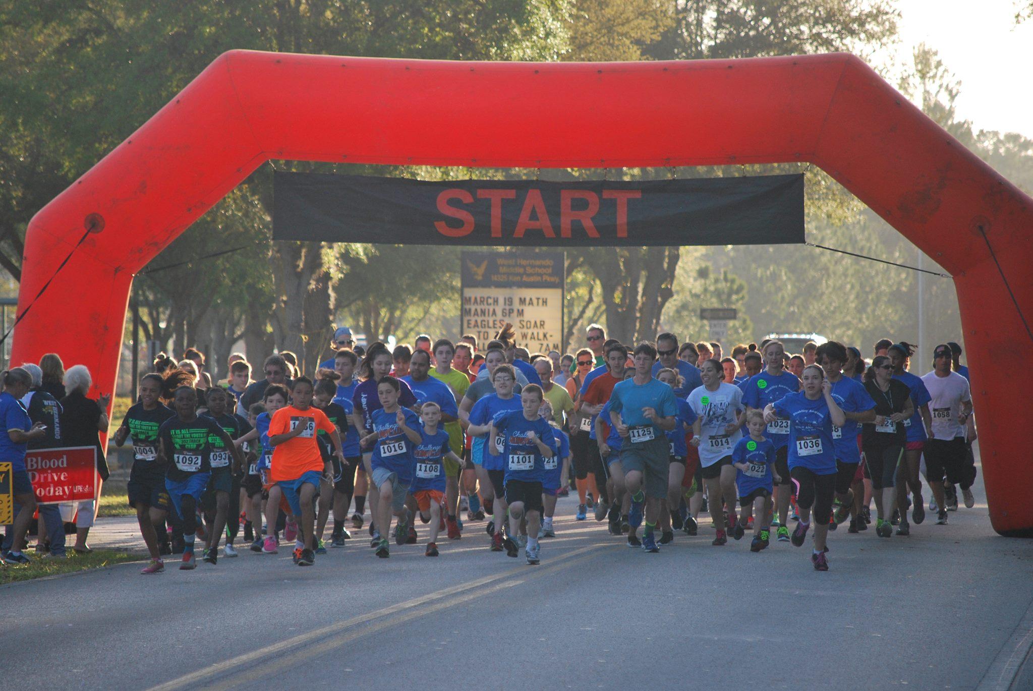 6th Annual Disability Awareness Walk & Roll 5K and Family Fun Run