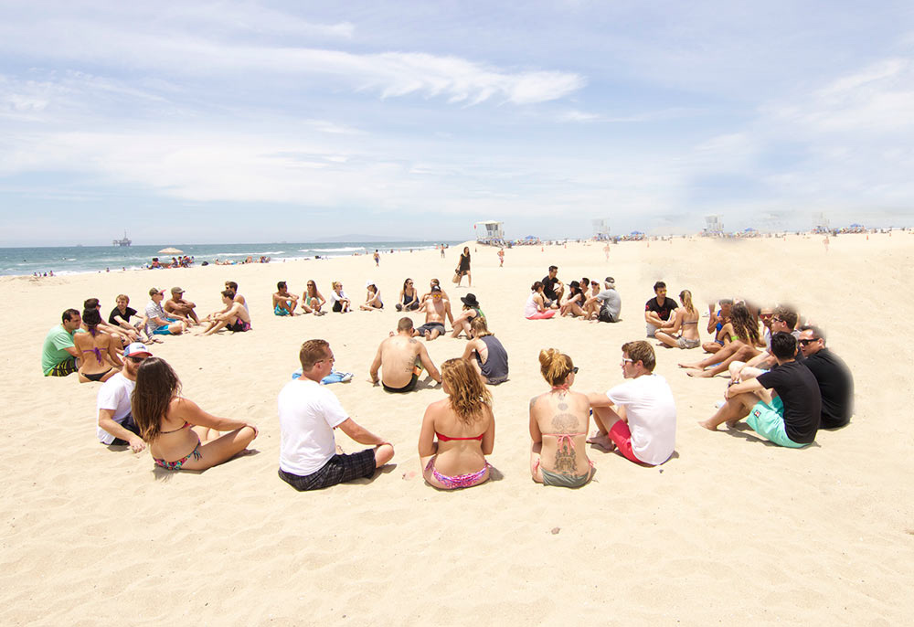 Xanadu Coastal Cleanup / Hermosa Beach Oct 16th