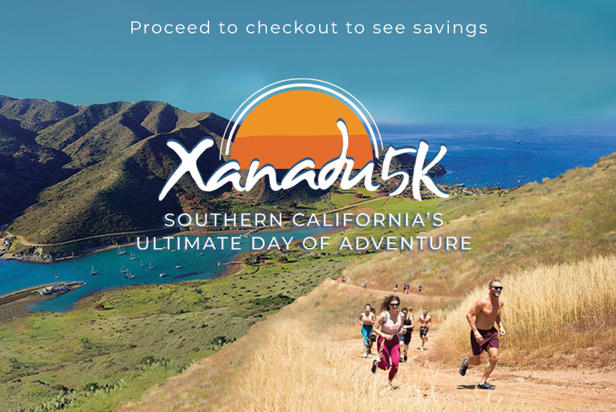 Xanadu 5K Adventure, Catalina Island