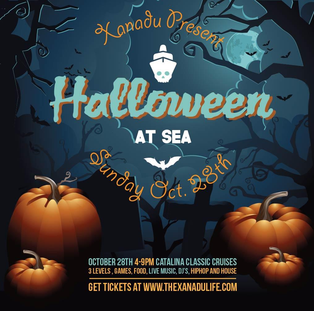 Halloween At Sea