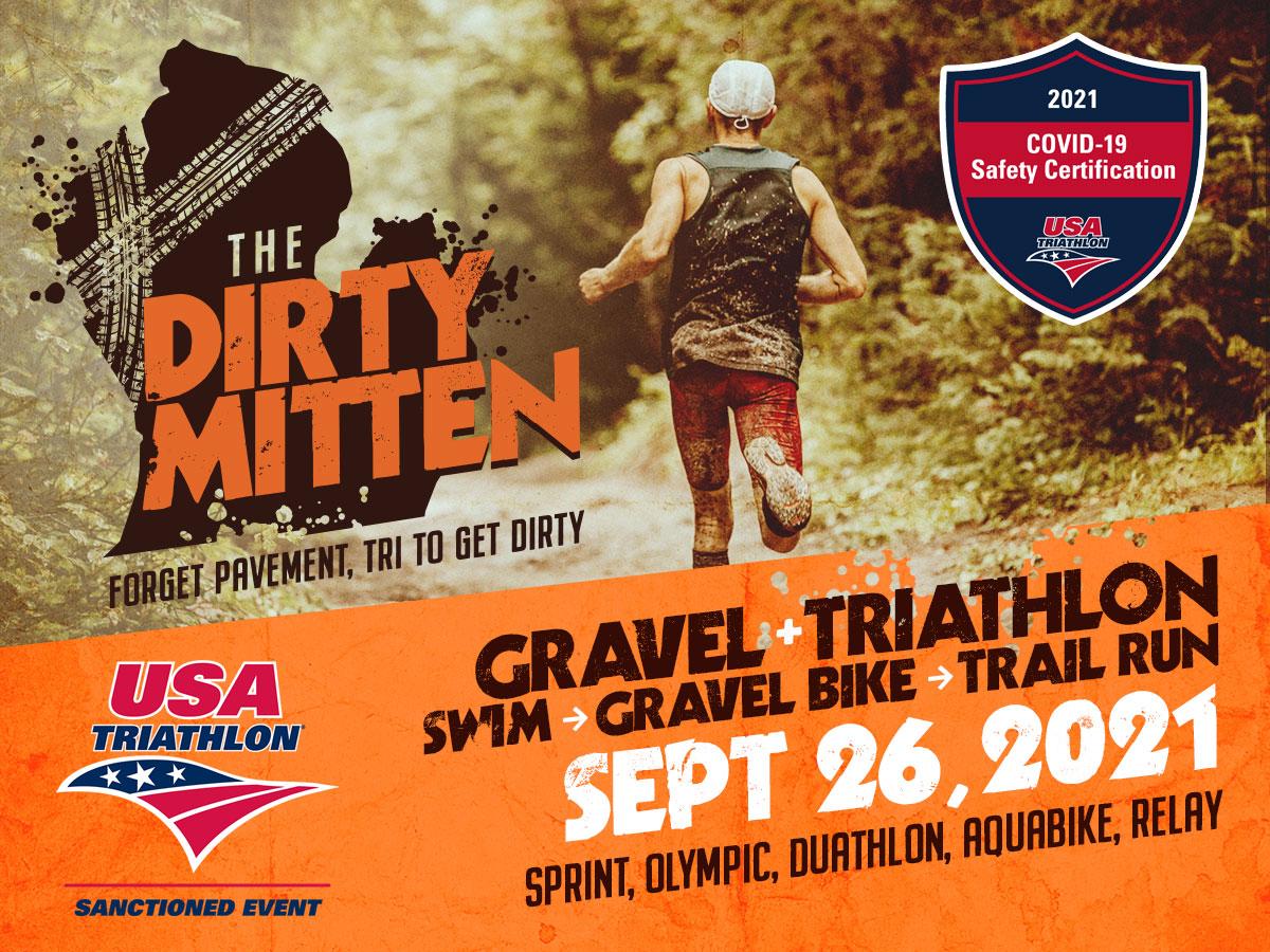 The Dirty Mitten Gravel Triathlon