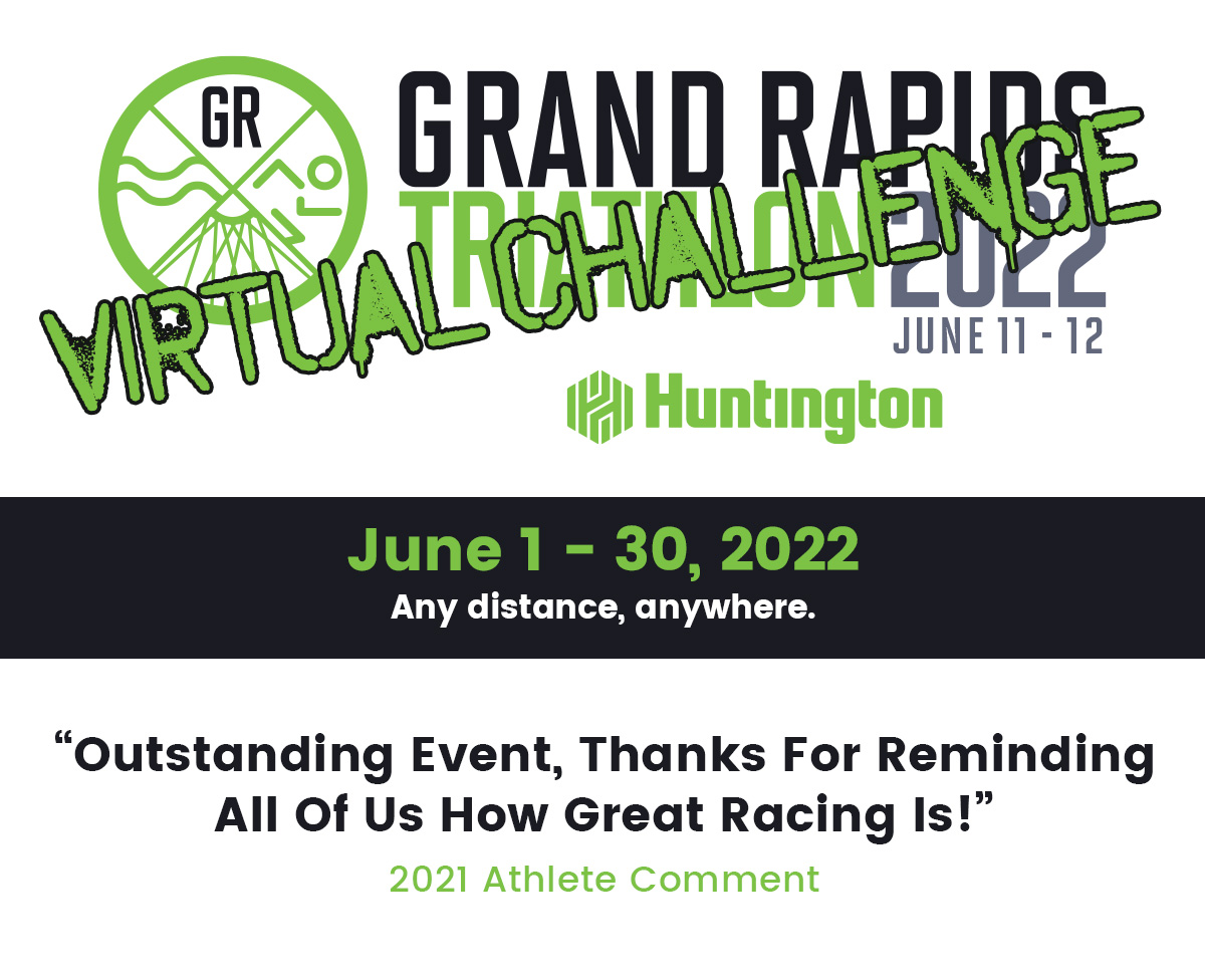 Grand Rapids 2022 Virtual Triathlon