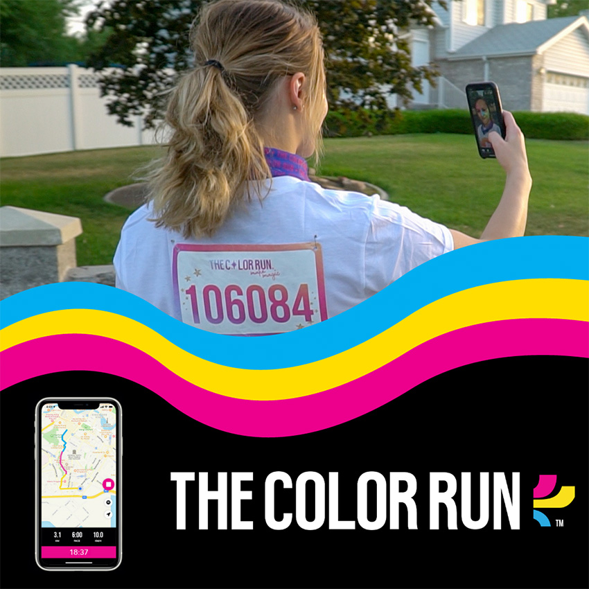 The Color Run - The Happiest VIRTUAL 5K on the Planet