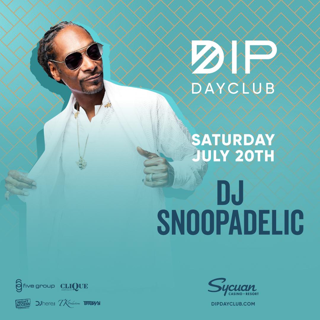 Saturday July 20th w/ DJ SNOOPADELIC