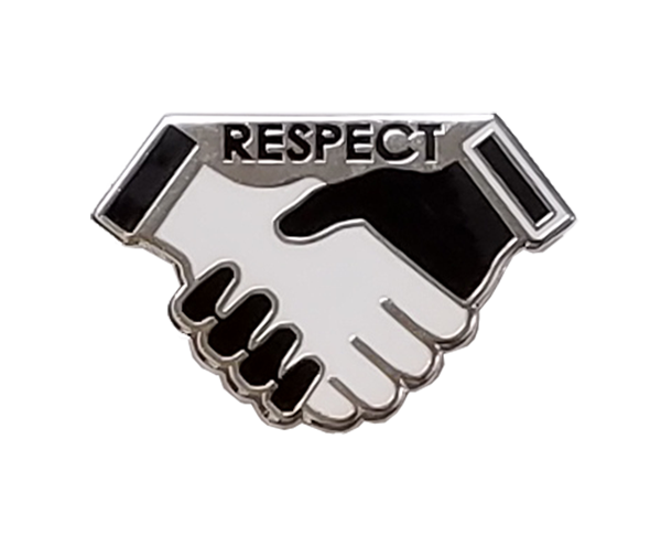 Hands of Respect Pin
