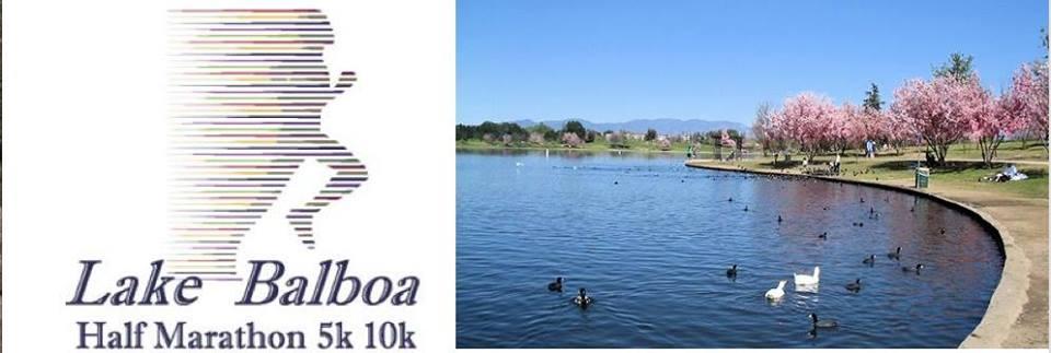 Lake Balboa Half Marathon 5k 10k 2019