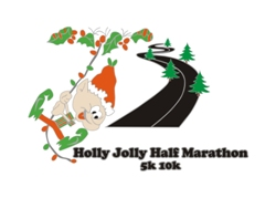 Holly Jolly Half Marathon 5k 10k 2020