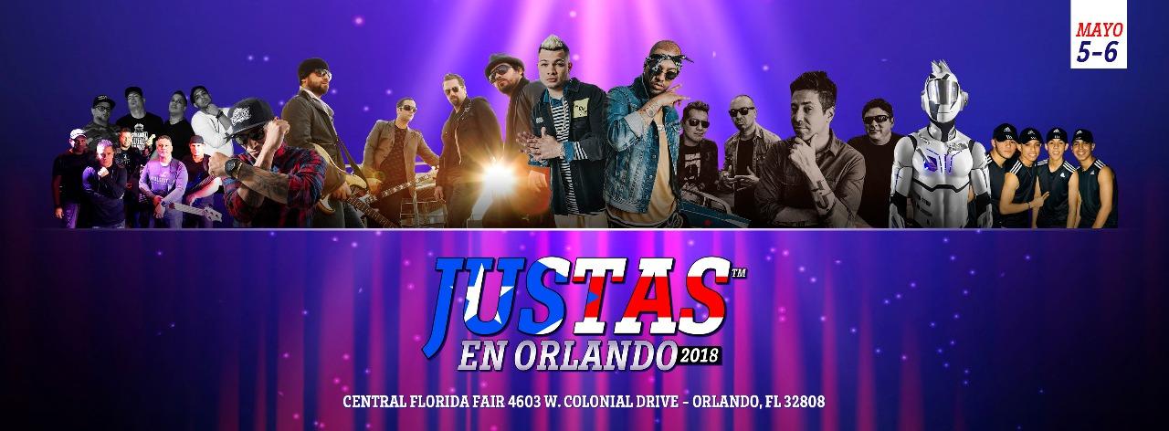 Justas en Orlando 2018