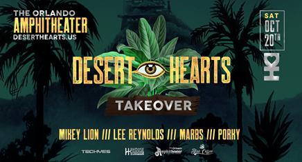Desert Hearts Takeover the Pavilion