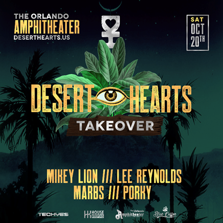 Desert Hearts Takeover the Pavilion