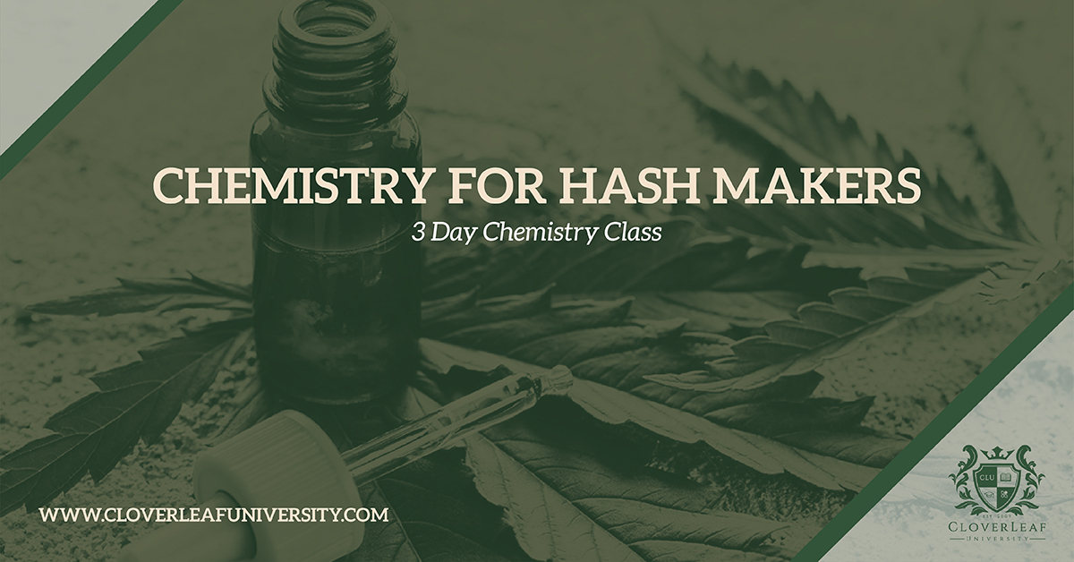 Chemistry for Hash Makers