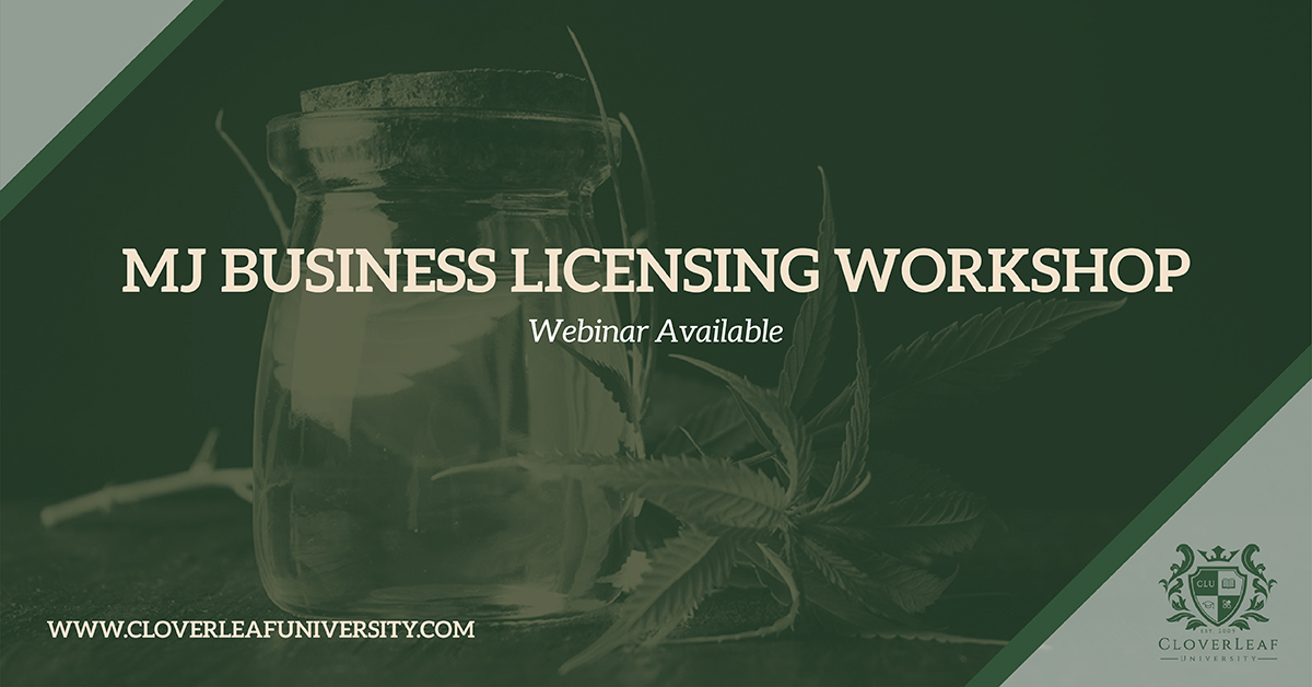 Cannabis Business Certification (Entry General Education)