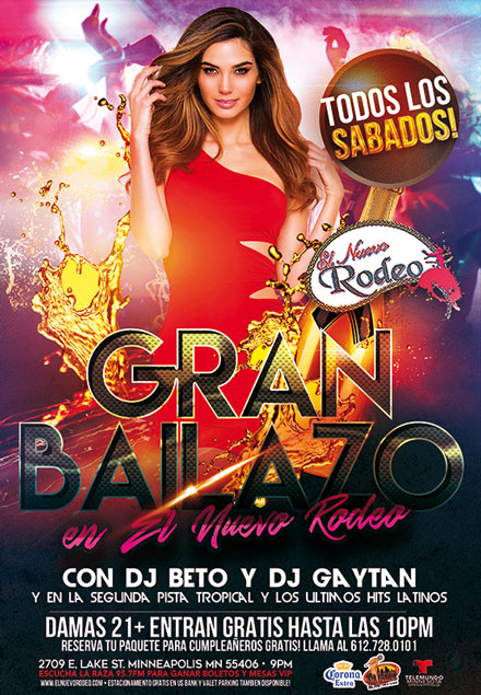 Gran Bailazo (May 19th)