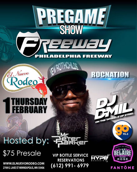 Pregame Show with Freeway