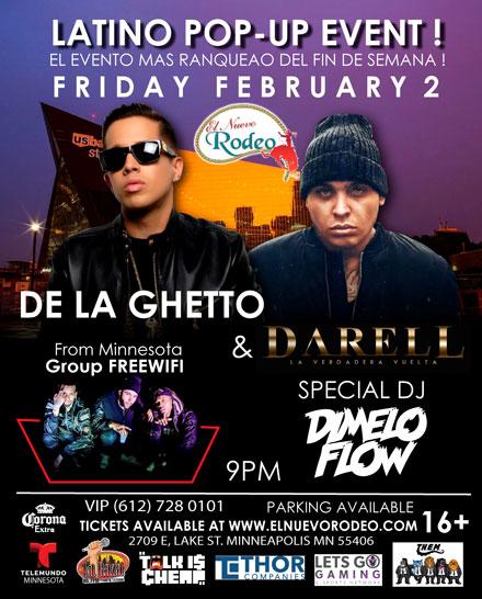 De La Ghetto and Darell
