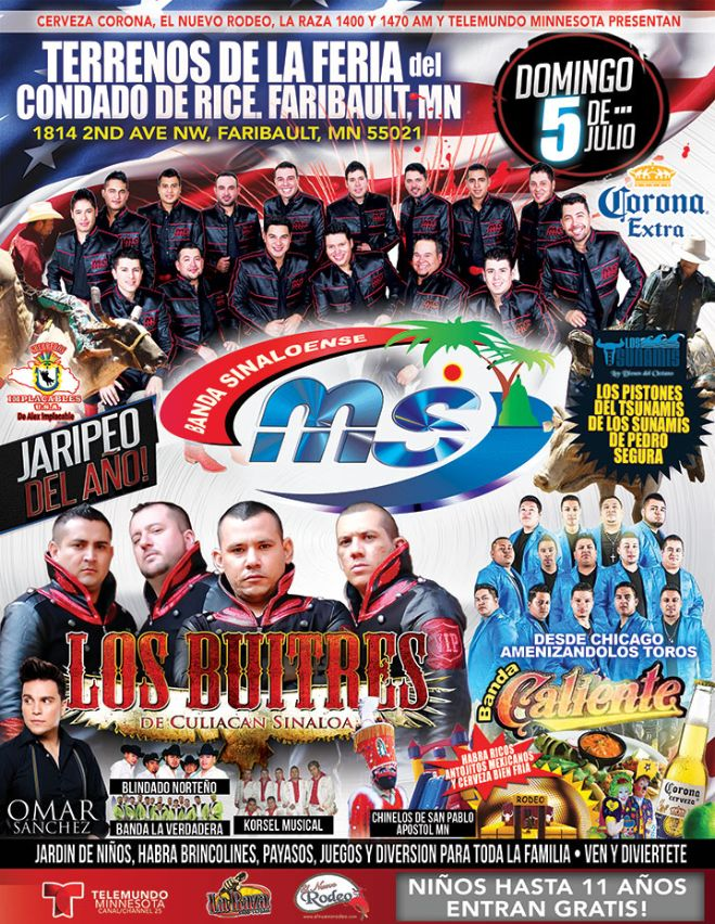 Midwest Latino Entertainment and Talent, Inc  - Jaripeo del año