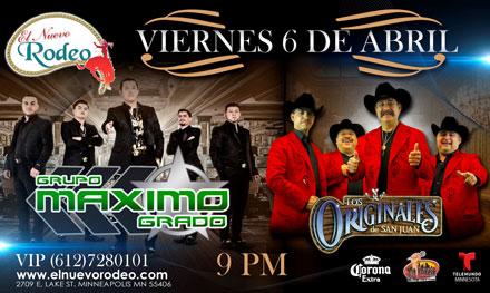 Grupo Maximo Grado / Los Originales de San Juan
