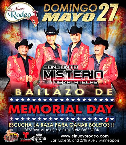 Bailazo De Memorial Day