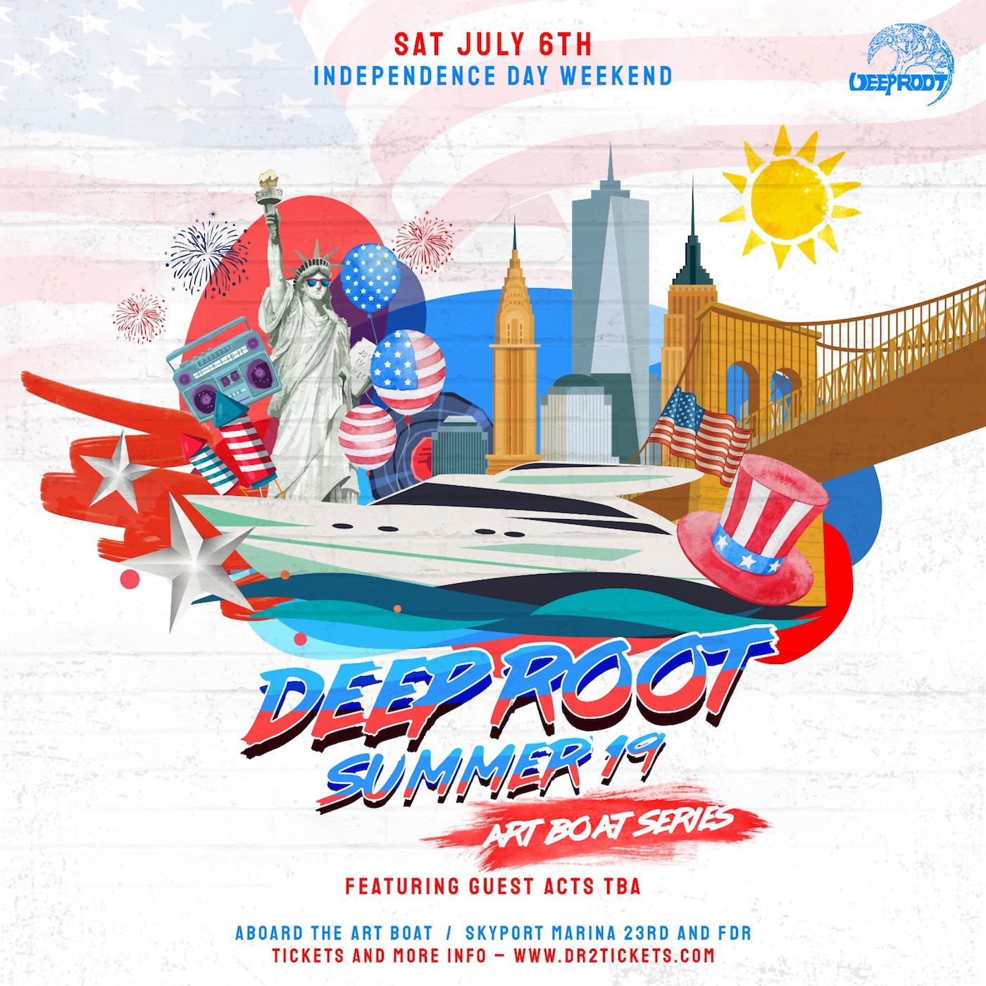 The Art Boat Yacht: July 4th Weekend