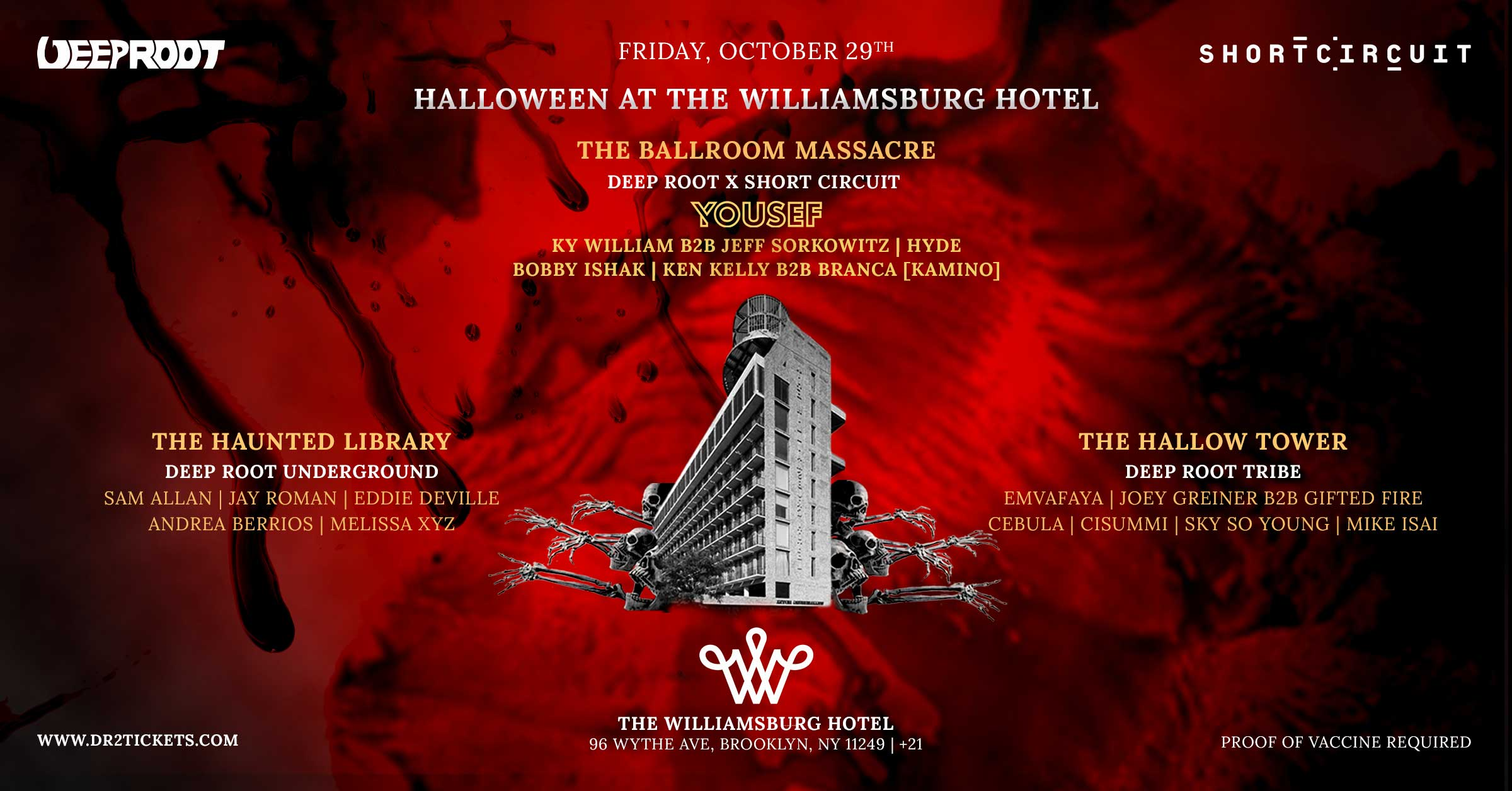 Halloween At The Williamsburg Hotel Chronicle I ft. Yousef [10/29]