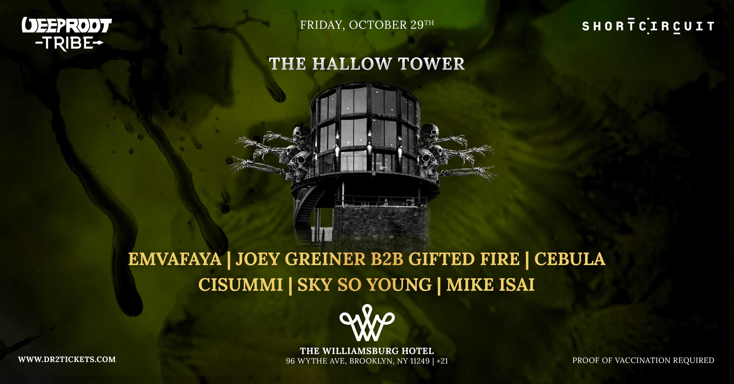 The Hallow Tower At The Williamsburg Hotel [10/29]