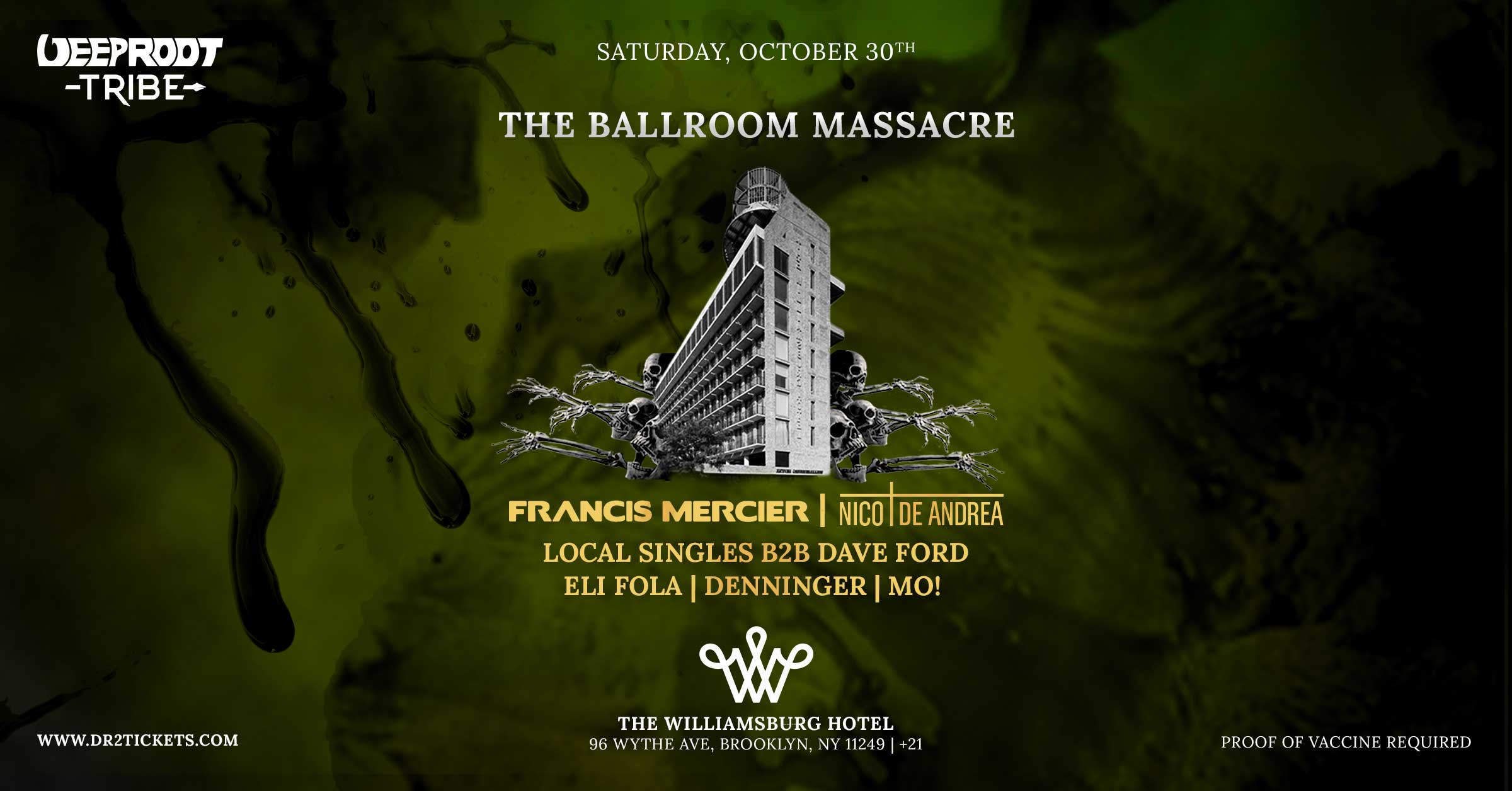 The Ballroom Massacre At The Williamsburg Hotel [10/30]