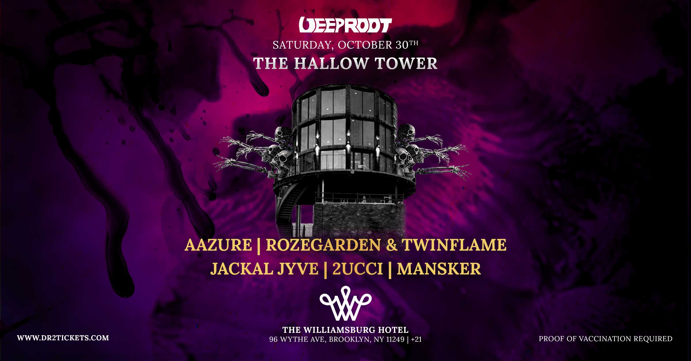 The Hallow Tower At The Williamsburg Hotel [10/30]