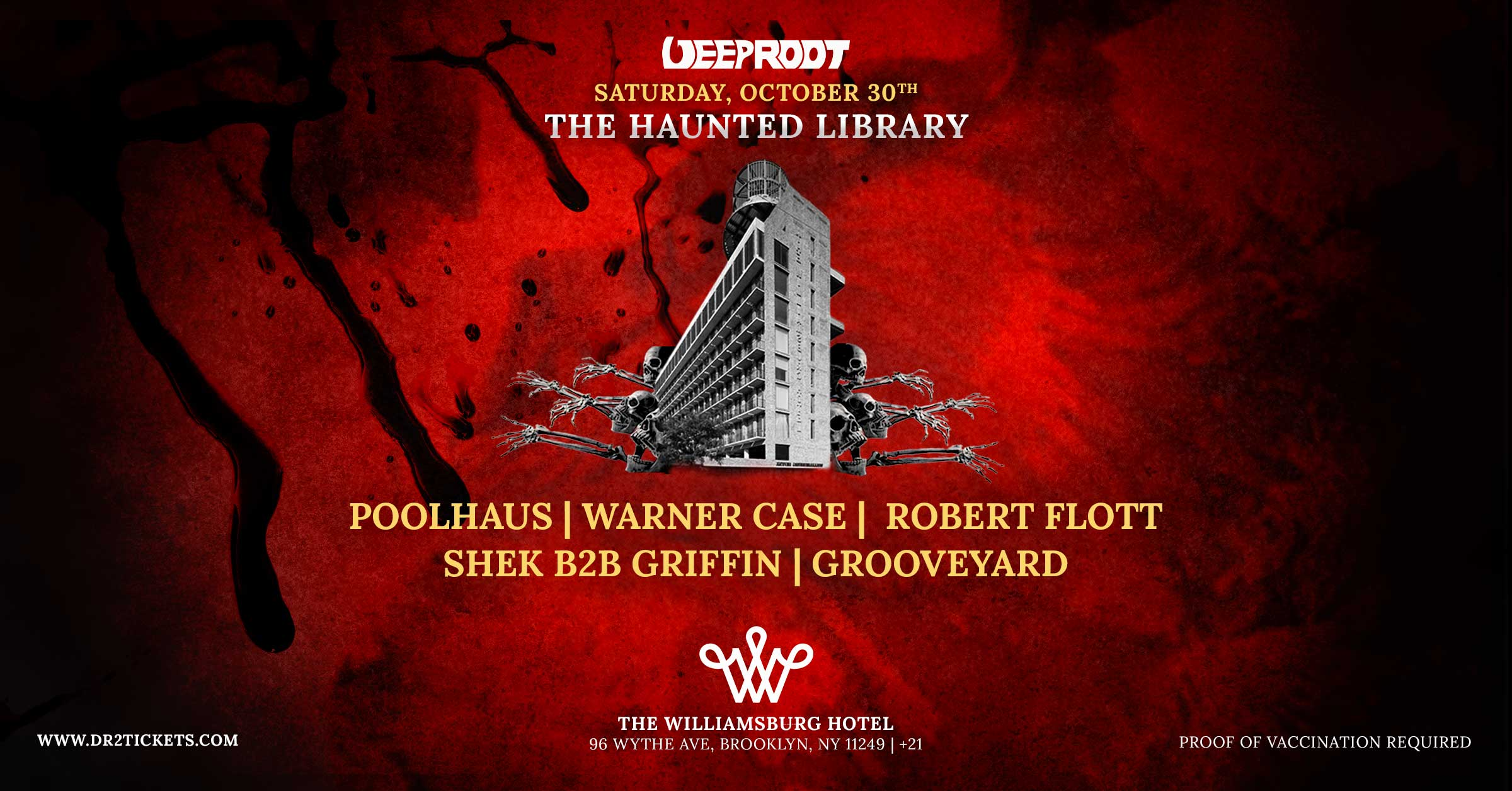 The Haunted Library At Williamsburg Hotel [10/30]