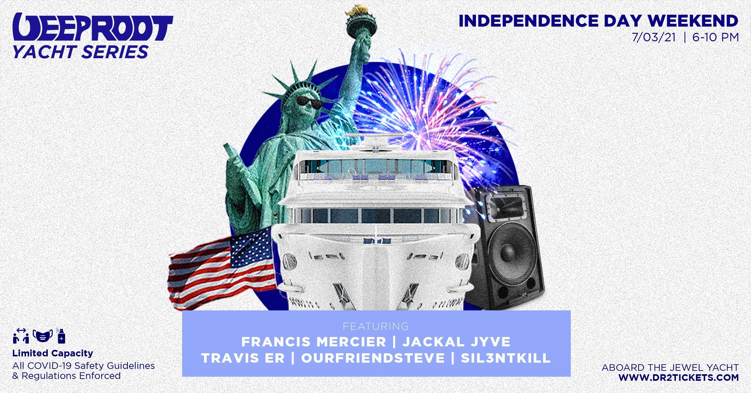 Independence Day Weekend Yacht Cruise 7/3