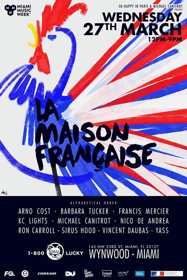 La Maison Française - Miami Music Week