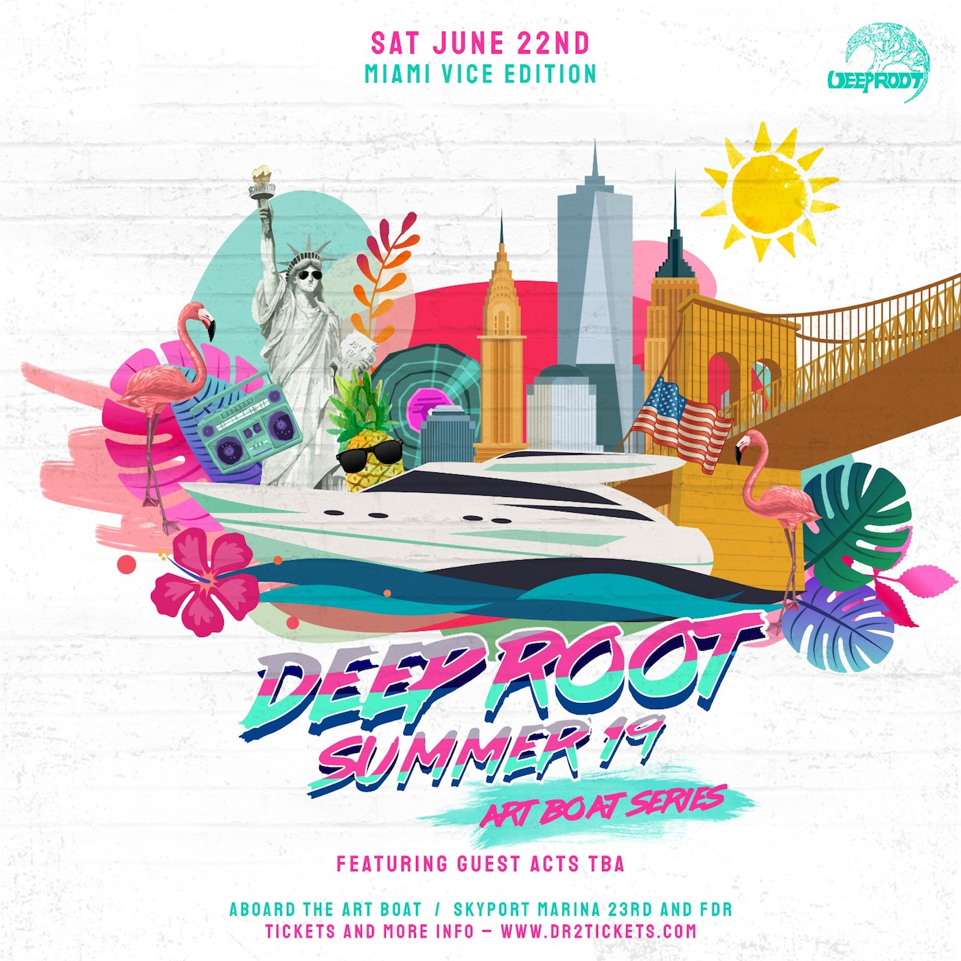 The Art Boat Yacht Party: Miami Vice