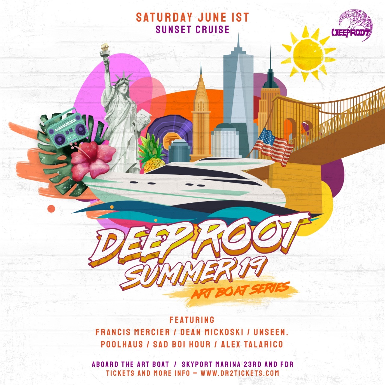 Grand Premier – The Art Boat Yacht Party