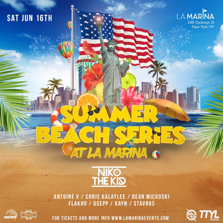 Tropical Beach Party At La Marina