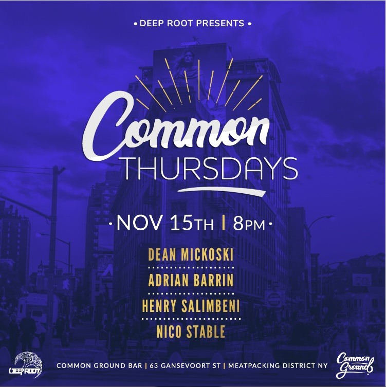 Common Thursdays - November 15th