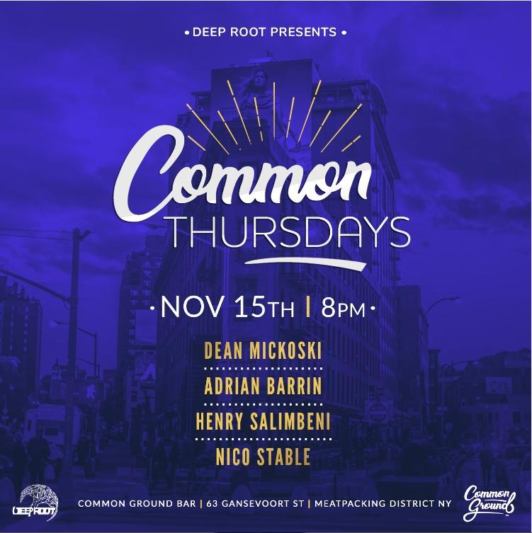 Common Thursdays - November 15th