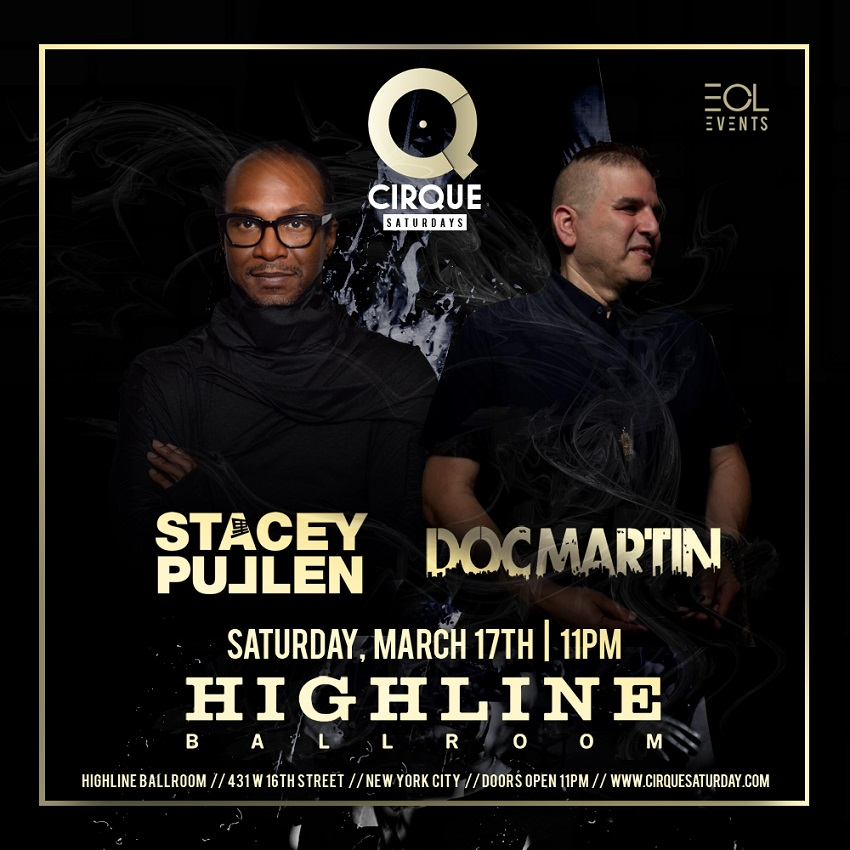 Stacey Pullen & Doc Martin - Cirque Saturdays